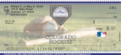 Colorado Rockies(TM) MLB(R) Personal Checks