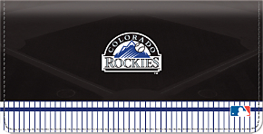 Colorado Rockies(TM) MLB(R) Checkbook Cover