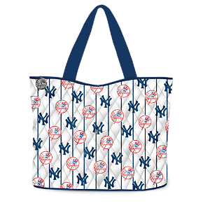 Yankees Tote Bag With FREE Cosmetic Cases