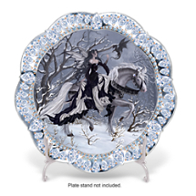 Nene Thomas The Ice Princess Fairy Art Collector Plate