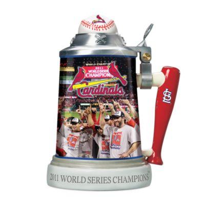 St. Louis Cardinals 2011 World Series Porcelain Stein