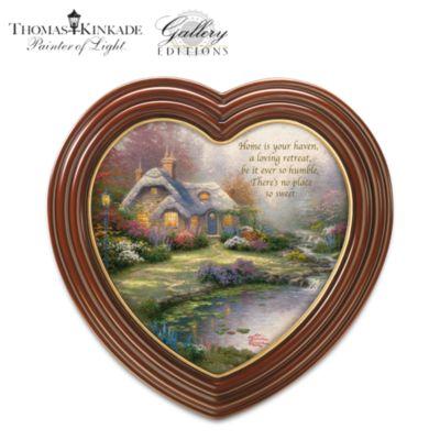 Thomas Kinkade Framed Cottage Art Canvas Print