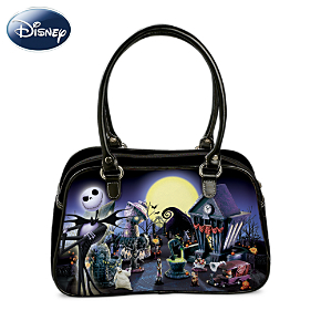 Tim Burton's The Nightmare Before Christmas Glowing Handbag