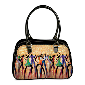 Monica Stewart Dance The Night Away Handbag