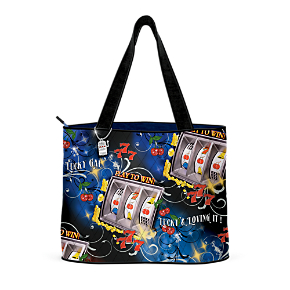 Lucky And Loving It Tote Bag With FREE Cosmetic Case