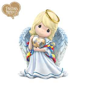 Precious Moments Angel Figurine Supports Autism Awareness
