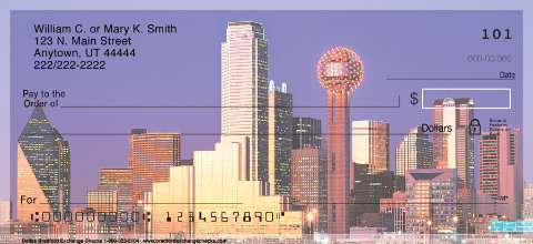 City Skylines - Dallas Personal Checks