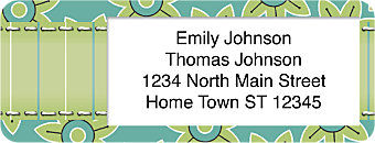 Lisa Bearnson's Paper Patterns Return Address Label