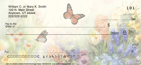 Butterfly Gardens Checks