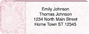 Romance  Return Address Label