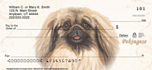 Pekingese Personal Checks