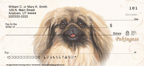 Pekingese Portrait Paintings