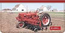 Farmall Checkbook Cover