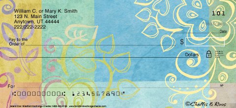 Challis & Roos Island Cool Personal Checks