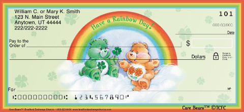Care Bears Personal Checks