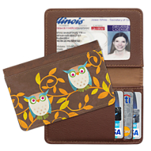 Challis & Roos Awesome Owls - Debit & Credit Card Holder