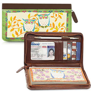 Challis & Roos Awesome Owls Wallet