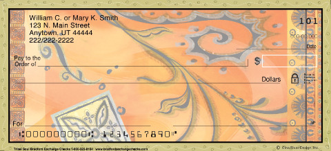 Tribal Soul Personal Checks