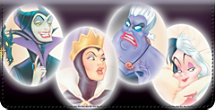 Disney Legendary Villains Checkbook Cover