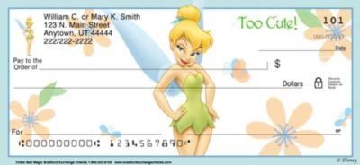 Tinker Bell Magic! Personal Checks