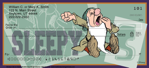 The Seven Dwarfs Personal Checks