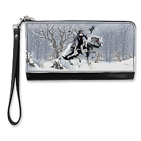 Chance Encounters Large Wristlet Purse