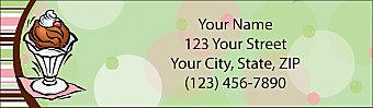 Indulgence Return Address Label