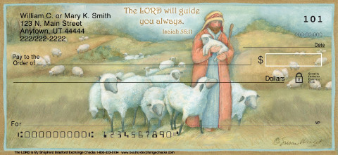 The LORD is My Shepherd Personal Checks