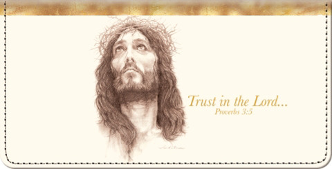 Trust in the Lord Checkbook Cover