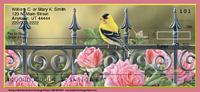 Songbirds Personal Checks