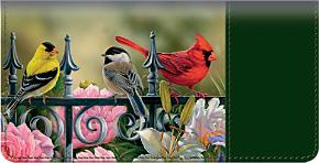 Songbirds Checkbook Cover