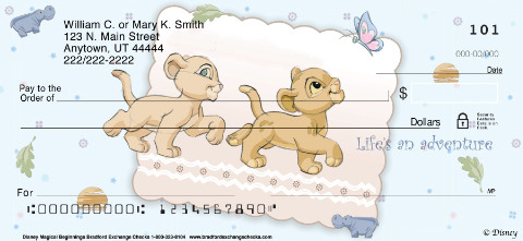 Disney Magical Beginnings Personal Checks