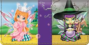 Wickedly Oz Checkbook Cover