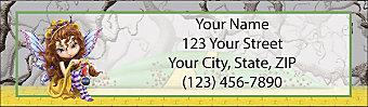 Wickedly Oz Return Address Label