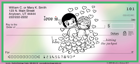 Love Is... Personal Checks