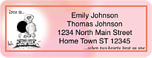 Love Is Return Address Label