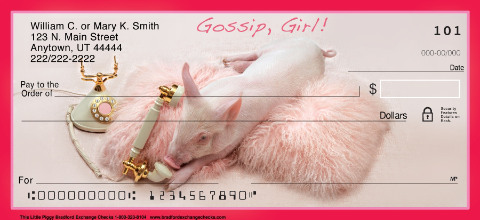 This Little Piggy Personal Checks