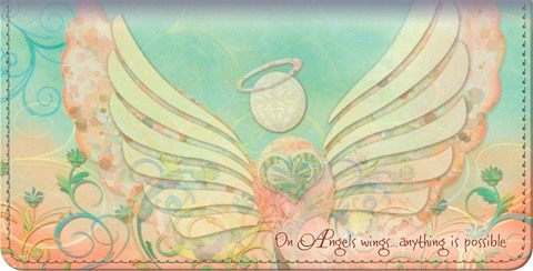 Angels of the Heart Checkbook Cover