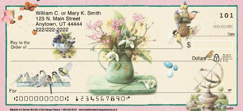 Marjolein's Garden Personal Checks