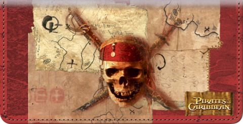 Pirates of the Caribbean Checkbook Cover 1800381010