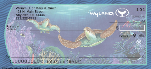 Wyland Sea Life Personal Checks