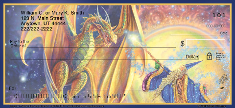 Dragons & Wizards Personal Checks