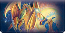 Dragons & Wizards Checkbook Cover
