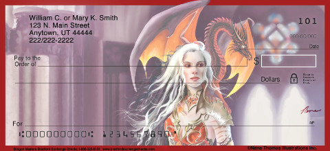 Dragon Masters Personal Checks