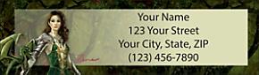 Dragon Masters Return Address Label