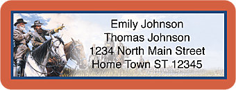 Civil War Return Address Label