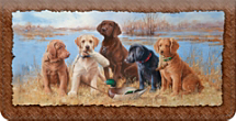 Hunting Buddies Checkbook Cover