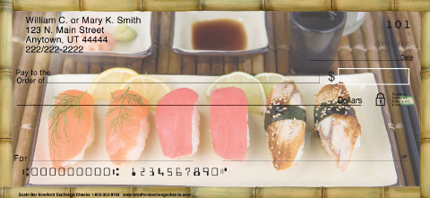 Sushi Bar Personal Checks