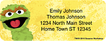 Sesame Street Address Labels