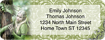 Gothic Princess Address Labels